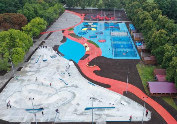 Какие локации уже доступны для посетителей в урбан-парке на ВДНГ - Киев Vgorode.ua