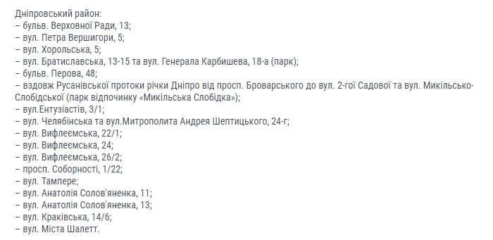 В Киеве обустроят более 130 зеленых зон: адреса фото 2