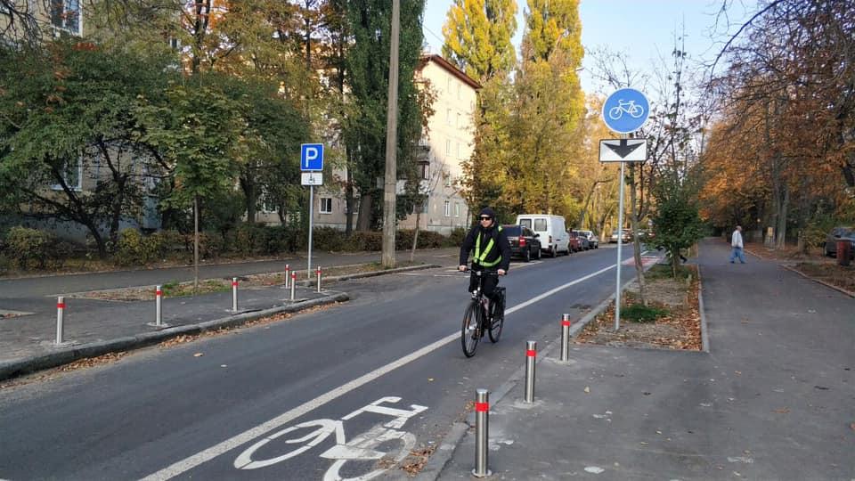 Новая велодорожка. Фото: Facebook Александра Густелева
